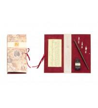 Письменный набор, бордо (Bx 70 bordo)