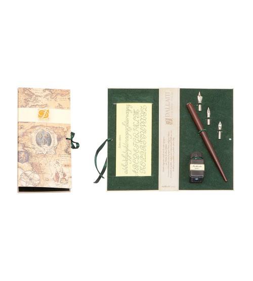 Письменный набор, бордо (Bx 70 green)