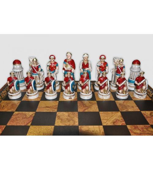 """Шахматные фигуры  - """"Battaglia di Cleopatra"""" (medium size) / """"Клеопатра"""" (SP90)"""