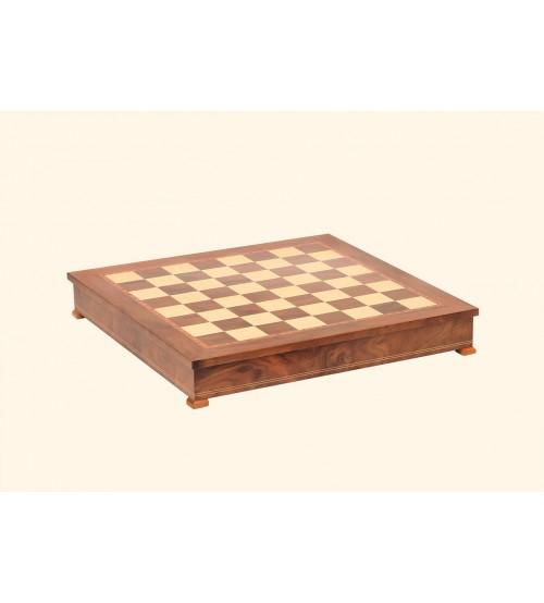 Box wood / Шахматное поле-бокс с местом для укладки шахмат (CD52G)