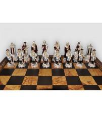"""Шахматные фигуры - """"Luigi XIV"""" (medium size) / """"Людовик XIV"""" (SP47)"""