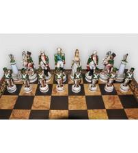 """Шахматные фигуры - """"Battaglia di Borodino"""" (Medium size) / """"Бородинское сражение"""" (SP1812)"""