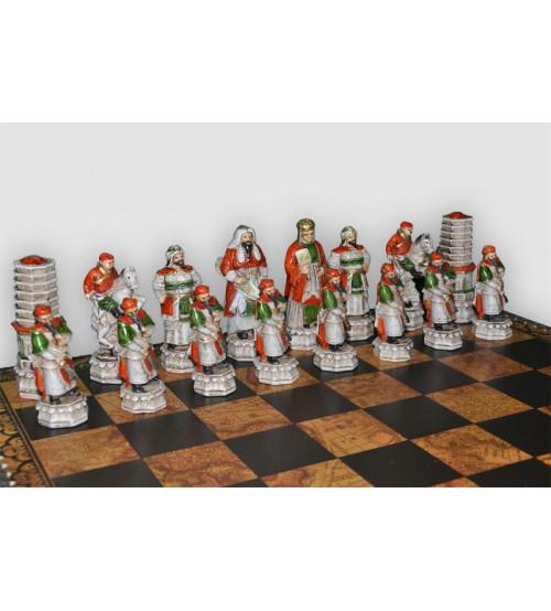 """Шахматные фигуры - """"Cinese mongolia"""" (medium size) / """"Китайско-монгольское завоевание"""" (SP2)"""