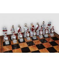 "Шахматные фигуры - ""Romani Egiziani"" (small size) / ""Римляне и египтяне"" (SP10)"