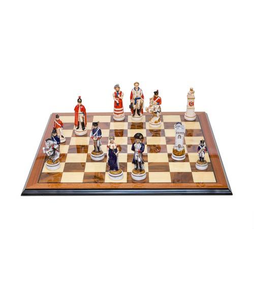 """Шахматные фигуры - """"Battaglia di Waterloo"""" (Большой размер) / """"Битва при Ватерлоо"""" (SP13/50)"""