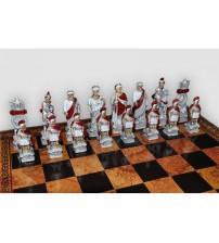"""Шахматные Фигуры - """"Romani Egiziani"""" (Medium Size) / """"Римляне И Египтяне"""" (SP105)"""