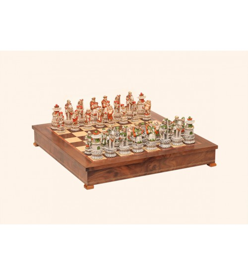 """Шахматные фигуры - """"Impero ming battaglia cinese"""" (medium size) / """"Империя Мин"""" (SP3)"""