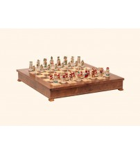 "Шахматные фигуры  - ""Battaglia di Cleopatra"" (small size) / ""Клеопатра"" (SP91)"