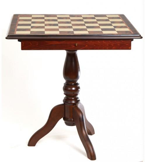 Scacchiera-table, box / Шахматное поле (стол), бокс с местом для укладки шахмат  (T13)